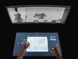 Studio Work Desk Dell U0027s Futuristic Smart Desk Pc Will Challenge Microsoft U0027s Surface