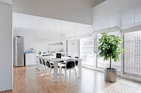 Modern Rectangle Dining Table Rectangular White Polished Wooden Dining Table Modern Dining Room