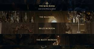 Disney Teams Spotify For Ultimate Beauty  The Beast Experience - Beauty and the beast dining room