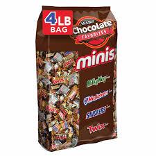 Top 20 Candy Bars Amazon Com Nestle Chocolate Assorted Minis Bag 40 Ounce