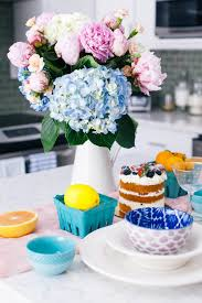 Kitchen Table Setting by Kitchen Table Setting For Special Occasions Color U0026 Chic
