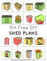 Diy Wood Shed Design by The 25 Best Wood Shed Plans Ideas On Pinterest Shed Blueprints