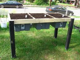 Gardening Table Self Watering Veggie Table 15 Steps With Pictures