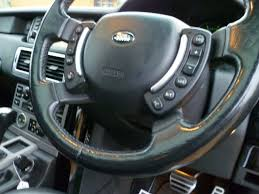 range rover steering wheel used black land rover range rover for sale south yorkshire