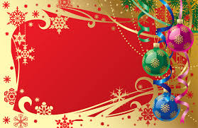 fancy christmas fancy christmas message template vector