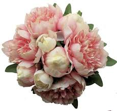 Silk Wedding Bouquet The 25 Best Silk Peonies Ideas On Pinterest Fake Flower
