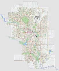 Calgary Map Snow Route Parking Ban In Effect As Calgary Grapples With Snow