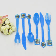 plastic knives 30pieces moana theme party favors plastic knives forks spoons kids