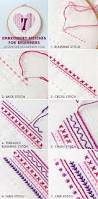 Kitchen Embroidery Designs Diy Heart Embroidery Sampler For Beginners