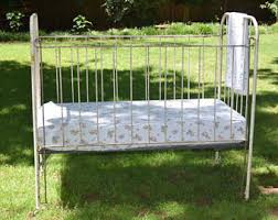 iron crib etsy