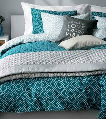 Amazon Bedding Total Fab Black White And Turquoise Bedding