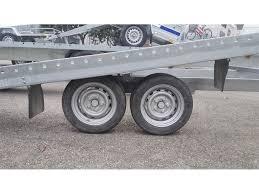carrello porta auto usato vendesi odc trailer nazionale transport 400 b rimorchi carrelli trasporto