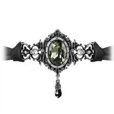 swarovski home decor saint petersburg tear victorian choker necklace gothic jewelry