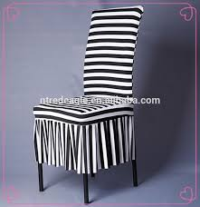 Black And White Chair Covers Striped Wedding Chair Covers Striped Wedding Chair Covers