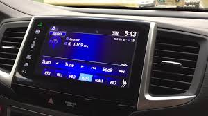 honda pilot audio system 2016 honda pilot ex l fm radio problem