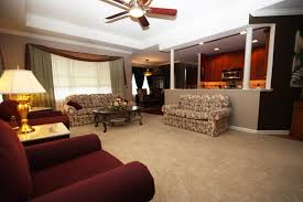 what is an open floor plan living room oration rustic space curtain red using sofa with above