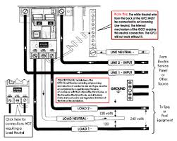 50 amp gfci breaker wiring diagram wiring diagram and schematic