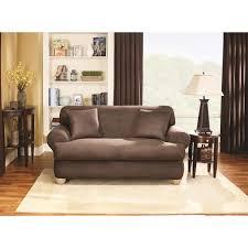 T Cushion Sofa Slipcover by T Cushion Sofa Slipcover Summer Brushed Twill Cream Ivory Sofa