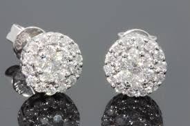 real diamond earrings for men real diamond stud earrings for men women deal of the day