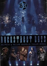 film blue world backstreet boys black blue world tour 2001 japanese tour programme