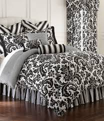 Black And White Bed Sheets Rose Tree Dillards Com