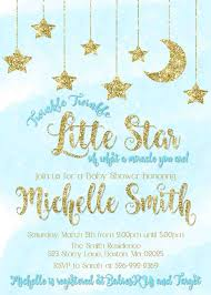 Blue And Gold Baby Shower Decorations by Twinkle Twinkle Little Star Green Gold Glitter Baby Shower