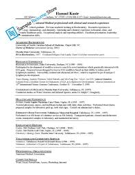 Curriculum Vitae Medical Doctor The Resume Doctor Doctor Resume Template 16 Free Word Excel Pdf