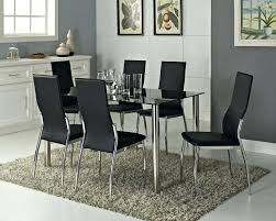 Black Oval Dining Room Table - dining table and chairs for 6 u2013 zagons co