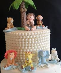blue safari baby shower jungle birthday pink safari cake topper