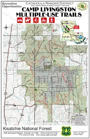 louisiana highway map alexandria and central louisiana ohv and atv trails cs and