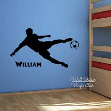 baby nursery boys name wall sticker football player name wall baby nursery boys name wall sticker football player name wall decal boys name stickers for kids room cut vinyl stickers c23 in wall stickers from home
