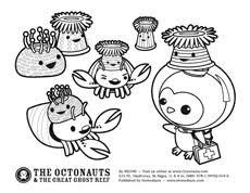 octonaut coloring pages the octonauts awesome shellington sea otter from the octonauts