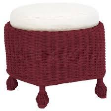 Cushion Ottoman Wicker Ottoman Cushion Solid Foam
