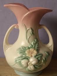 Vintage Vases For Sale Antique Pottery Vintage 1940 U0027s Hull Usa Pottery Vase W8 7 1 2