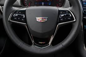 cadillac cts steering wheel 2016 cadillac ats v review test motor trend