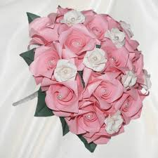 wedding flowers pink buy origami bridesmaid bouquets origami wedding bouquet