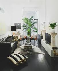 How To Decorate Around The Black Leather Couch For The Home - Living room decor with black leather sofa
