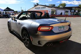 subaru supercar track tested subaru brz performance package and fiat 124