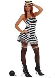 Halloween Inmate Costume Prisoner Costume