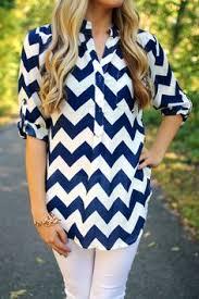 charming charlie chiffon chevron blouse upc 3000689930