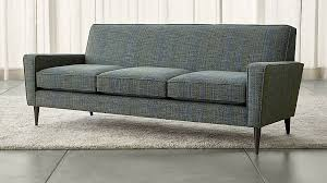 Who Makes Crate And Barrel Sofas Torino Teal Sofa Crate And Barrel