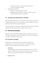 care business plan