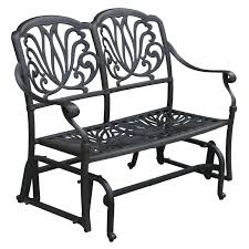 Woodard Cortland Cushion Patio Furniture - woodard cortland woven loveseat glider hayneedle