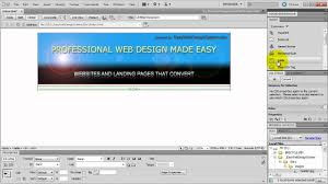 web design software tutorial how to make a website in dreamweaver tutorial for beginners youtube