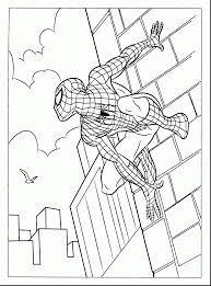 extraordinary spider man coloring pages print free