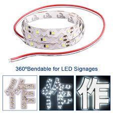 mini led light strips 5m roll bendable s shape tape led strip light specially for