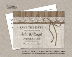 rustic save the date cards tie the knot save the date card rustic save the date card