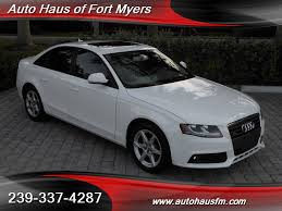 audi a4 2 0 t premium 2009 audi a4 2 0t quattro ft myers fl for sale in fort myers fl