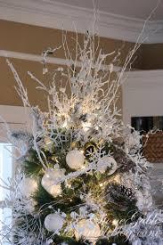 snowflake christmas tree stonegable