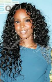 middle parting weave hairstyles curly brazilian human hair middle part glueless wig for black